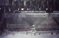 System of automated alumina feeding on the Soderberg pot